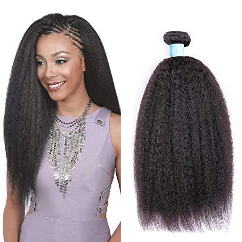 BLY Mongolian Kinky Straight 3 Bundles of Virgin Human Hair