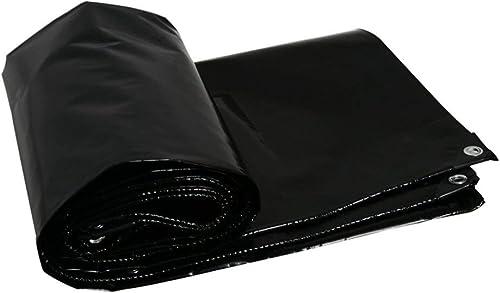 NANIH Home Tente extérieure bache de Prougeection écran Solaire Tente Toit en Toile Pare-Brise Pare-Brise Camion auvent Noir (Couleur   noir, Taille   5x6M)