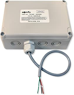 Somfy SO1810493 RTS Transmitter with Dry Cont Inputs, 1 Channel