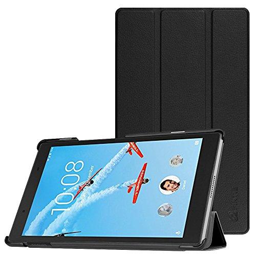Fintie Hülle für Lenovo Tab4 8 - Superdünne Superleicht Schutzhülle Tasche Etui Hülle für Lenovo Tab 4 8 20,32 cm (8 Zoll) Tablet-PC (Not für Lenovo Tab4 8 Plus), Schwarz