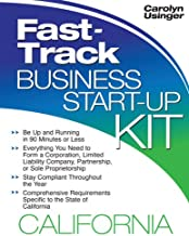 Fast-track Business Start-up Kit: California