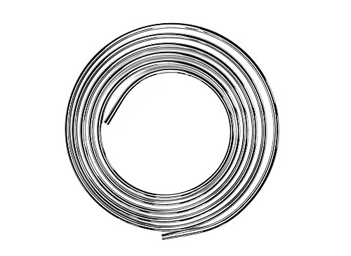 PUTEUS Kupferrohr verchromt Ø 10 mm/Spiralrohr/Wasseranschlussleitung
