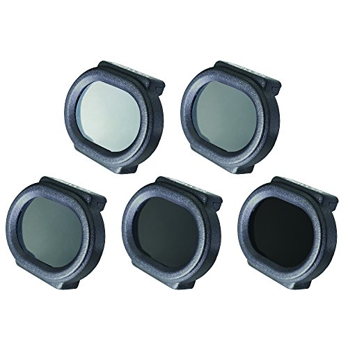 DJI Spark Filter 5 Pack (Cpl, ND4, ND8, ND16, UV Optical Filters)