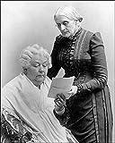 Elizabeth Cady Stanton and Susan B. Anthony 8x10 Silver Halide Photo Print