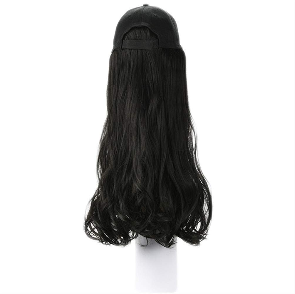 70% OFF Outlet Youdert Baseball Cap Wig Hat Natural Fluffy Bas Women's Wave Cheap mail order specialty store