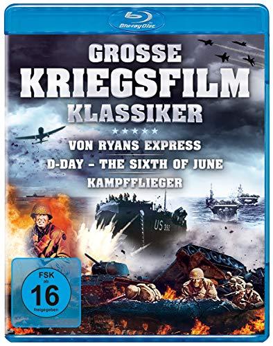 Große Kriegsfilm-Klassiker - Von Ryans Express, D-Day – The Sixth of June, Kampfflieger [Blu-ray]