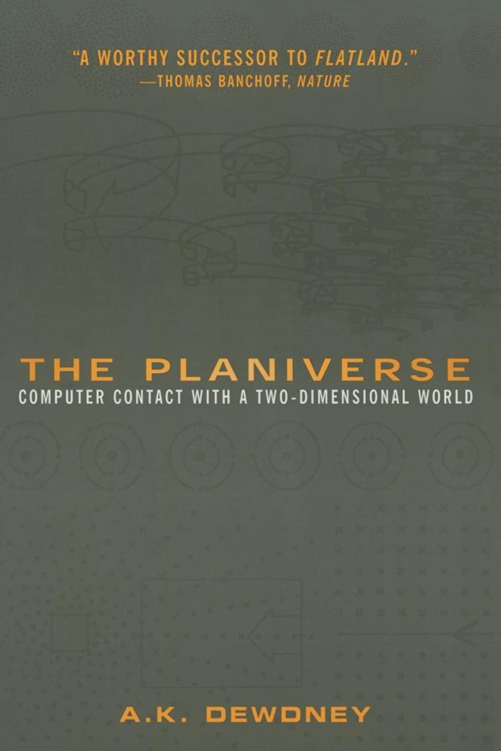 ヒューバートハドソン病気ポテトthe Planiverse: Computer Contact With A Two-Dimensional World