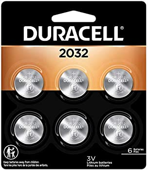 6-Count Duracell 2032 3V Lithium Coin Battery
