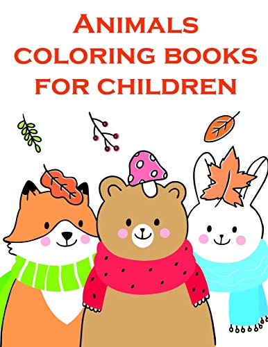 Animals coloring books for children: Funny Christmas Book for special occasion age 2-5 (Desert Animals, Band 9)