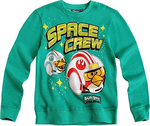 Lamaloli Angry Birds Star Wars Sweatshirt Jungen Grün Gr.128