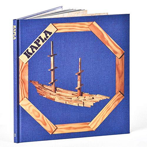 KAPLA カプラ デザインブック 第2巻 動物と建物 青 上級 [並行輸入品]
