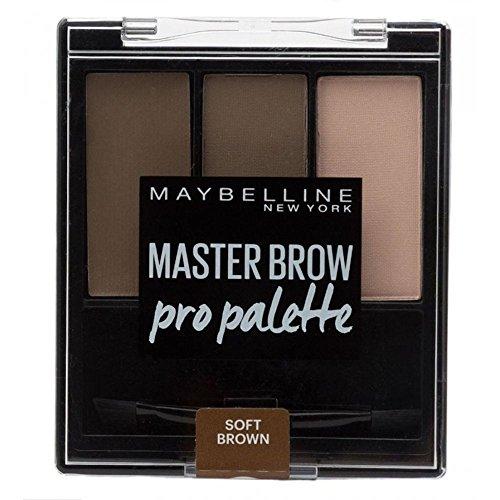 Maybelline Maître Sourcil Pro Palette en Brun Doux