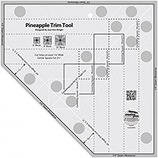 Best pineapple quilt ruler Reviews