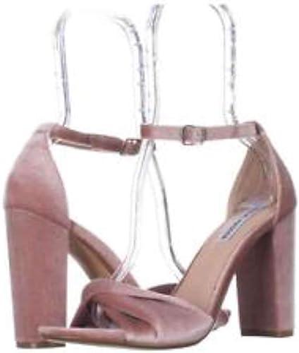 Steve Madden femmes Clever Open Toe Special Occasion, bleush Velvet, Taille 6.0