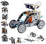 12 in 1 Solar Roboter Bausatz Set Kinder Spielzeug 8 Jähriger Junge Happygoo STEM Spielzeug Konstruktion Bauset, DIY konstruktionsspielzeug Robot Wissenschaft Kits