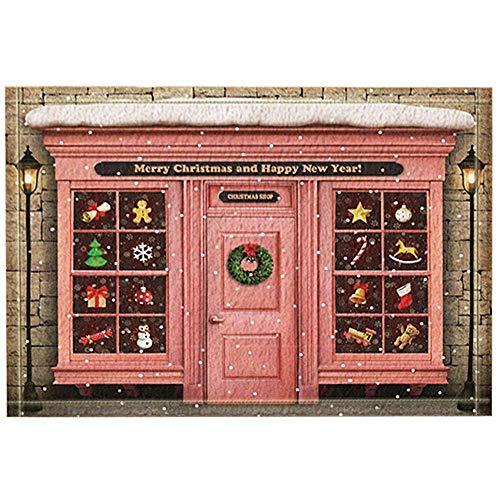 SESILY Kerst Decor, Kerst Aanbiedingen Store Verschillende geschenken Bad tapijten, anti-slip Deurmat Deurmat
