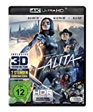 Alita - Battle Angel (4K Ultra HD) (+ Blu-ray 3D) (+ Blu-ray 2D) [Alemania] [Blu-ray]