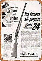 1953サベージモデル24コレクティブルウォールアート