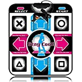 ZCFXGHH Pad de Baile, tapete de Baile para Dance Dance Revolution (DDR) Manta de Baile USB Antideslizante Sensible para PC portátil Videojuego