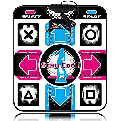 ZCFXGHH Dance Pad, Tanzmatte für Dance Dance Revolution (DDR) rutschfeste USB-Tanzdecke für PC-Laptop-Videospiele