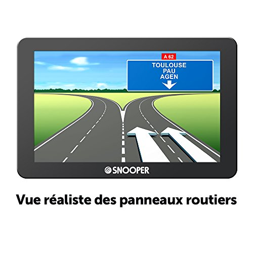 Snooper CC 2400 GPS Eléments Dédiés à la Navigation Embarquée Europe Fixe, 16:9