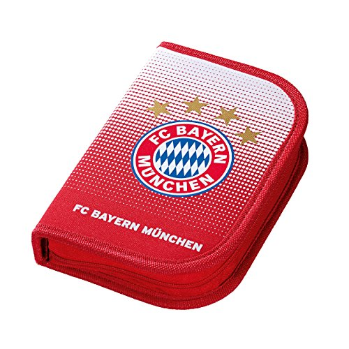 FC Bayern München Schüleretui gratis Aufkleber Federmappe Federmäppchen FCB Munich