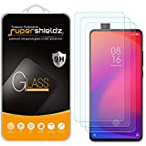 (3 Pack) Supershieldz for Xiaomi Mi 9T Tempered Glass Screen Protector, Anti Scratch, Bubble Free