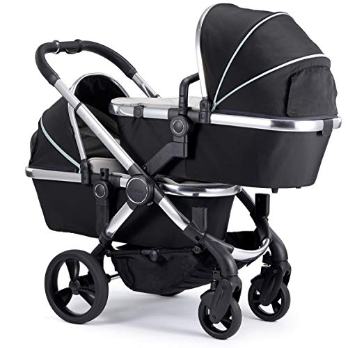 Find Cheap iCandy Peach Blossom Twin Stroller (Beluga Black)