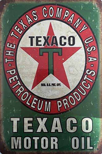 Kustom Factory - Placa de acero vintage para motor de aceite