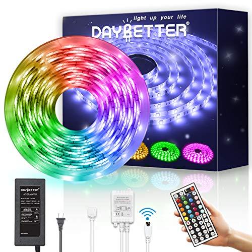 Bluetooth Controller ALED LIGHT Bluetooth LED Streifen Licht Controller mit 24 Tasten IR-Fernbedienung f/ür RGB LED Strip LED Band Smart Phone APP Control Smart Controller f/ür IOS und Android