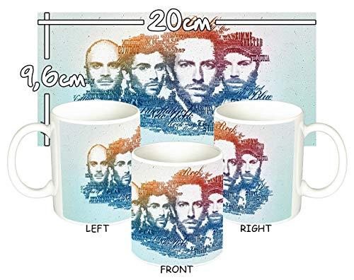 MasTazas Coldplay C Tasse Mug