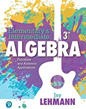 Best elementary and intermediate algebra 3rd edition Reviews