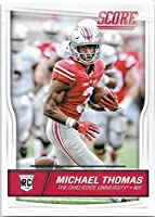 Michael Thomas 2016 Score Mint Rated Rookie Card #362 Picturing this New Orleans Saints Star in His Ohio State Jersey