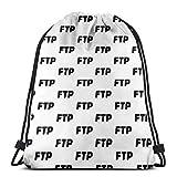 男の子と女の子のジムバッグ36 x 43 cmのFTP巾着袋