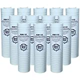 KleenWater Brand KW110 Water Filters, 5 Micron Dirt Rust and Sediment Filtration, Compatible with Aqua-Pure AP110, Set of 12
