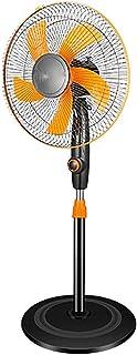 XingKunBMshop Floor Fan - Electric Fan Household Industrial Fan Vertical Fan / 220V-55W Pedestal Fans (Color : Orange)