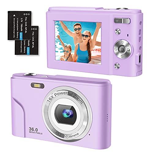 Digitalkamera Kompaktkamera 1080P FHD 36...