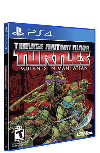 Ninja Turtles: Mutants in Manhattan - PlayStation 4