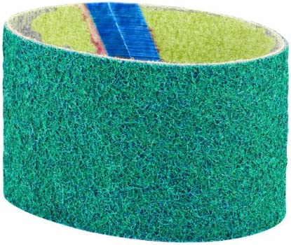 Dynabrade 90281 3 1 2 Inch Wide by 15 1 2 Inch Length Very Fine Non Woven Nylon DynaBrite Belt product image