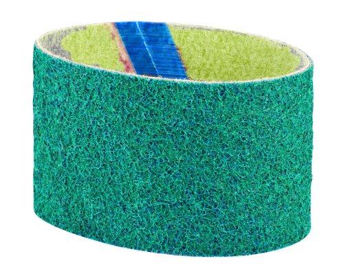Dynabrade 90281 DynaBrite-Gürtel, 8,9 cm breit, 39,1 cm lang, sehr feiner Nylon-Vlies, Blau