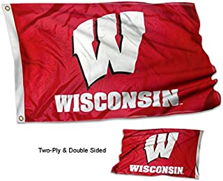 College Flags and Banners Co. University of Wisconsin Double Sided Flag