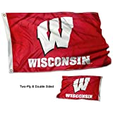 College Flags & Banners Co. University of Wisconsin Double Sided Flag