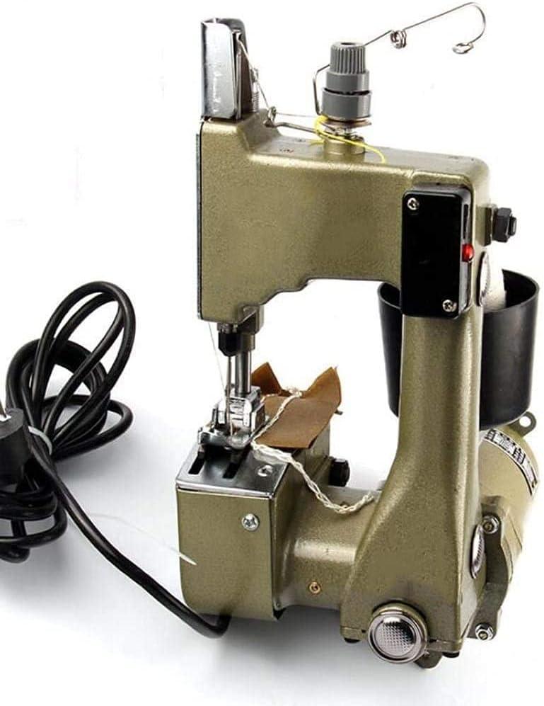 WDSZXH Bolso Tejido Máquina de Coser Bolsa Closer Bolsa eléctrica Embalaje Máquina de Sellado de Costura para Bolsa Tejida/Bolsa de arroz/Bolsa de Papel/Bolsa de plástico