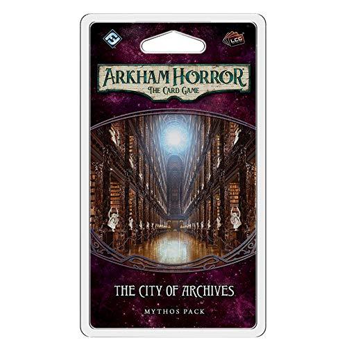 Fantasy Flight Games - Arkham Horror LCG: Mythos Pack - Ciudad de los Archivos - Juego de Cartas