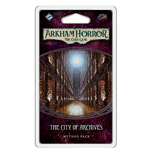 Fantasy Flight Games FFGAHC23 City of Archives Mythos Pack: Arkham Horror LCG Exp, Multicolore