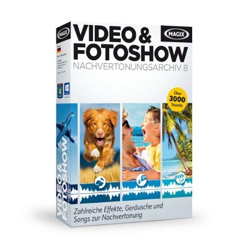 MAGIX Video und Fotoshow Nachvertonungsarchiv 8