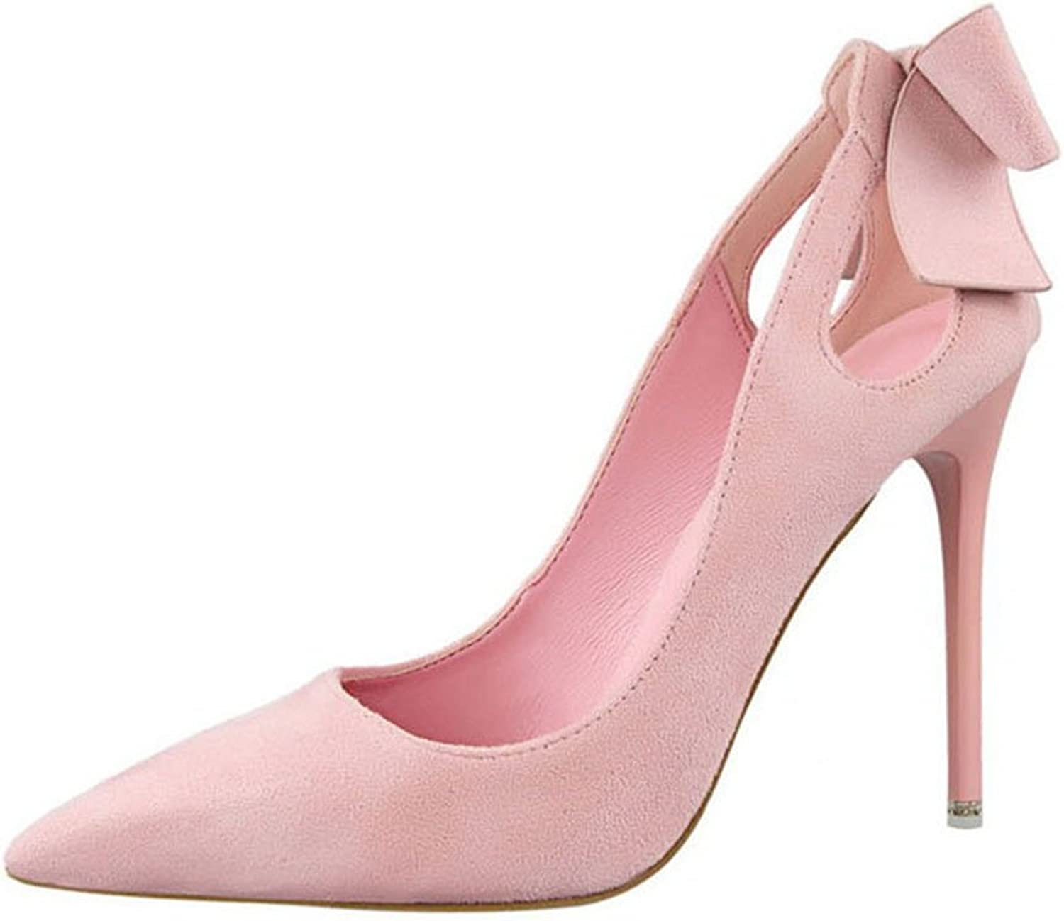 Big Tree 2017 Bowknot Dress shoes Women Pumps Heels Festival Party Wedding Pumps Heels Formal shoes
