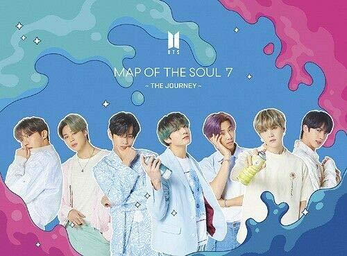 Big Hit BTS BANGTAN BOYS – Mapa del alma: 7 [The Journey] JAPAN LIMITED ver-B CD + DVD+Sticke+ Extra Photocard Set