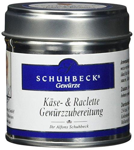 Schuhbecks Käse & Raclette Gewürzzubereitung, 3er Pack (3 x 55 g)