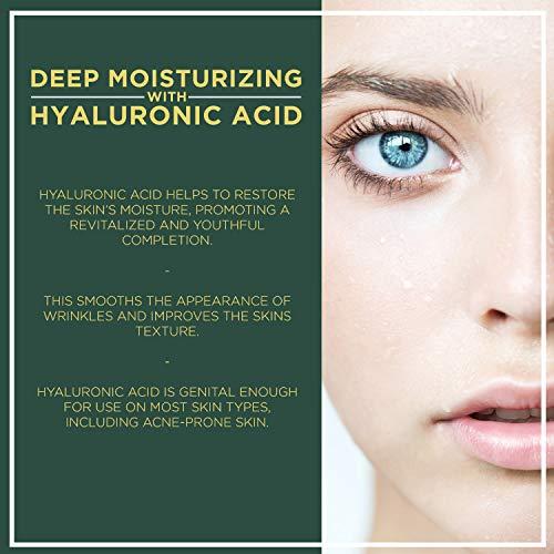 51rP1OdcXSL - NuOrganic Face Lifting Serum | Anti-Aging Serum | Organic Formula with MATRIXYL 3000, Vitamin C, Hyaluronic Acid, Plant Stem Cells, Argireline - Lifts, Firms & Tightens Skin ● 30ML